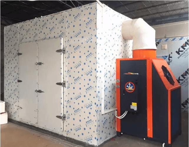 瑞星高科烘干热泵在粤西地区大放异彩!