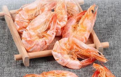 海虾烘干工艺